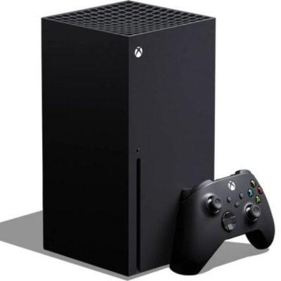consola com comando Xbox