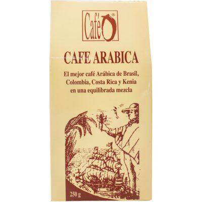 pacote de café moído arábica
