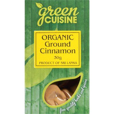 pacote de canela orgânica
