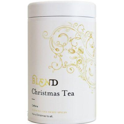 lata de chá preto especial natal