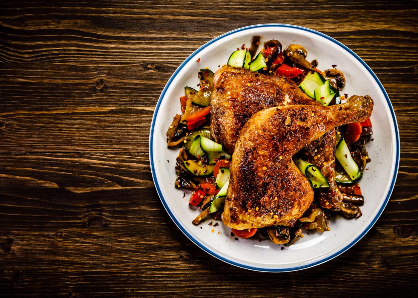coxa de frango com legumes grelhados receitas rapidas e saudaveis