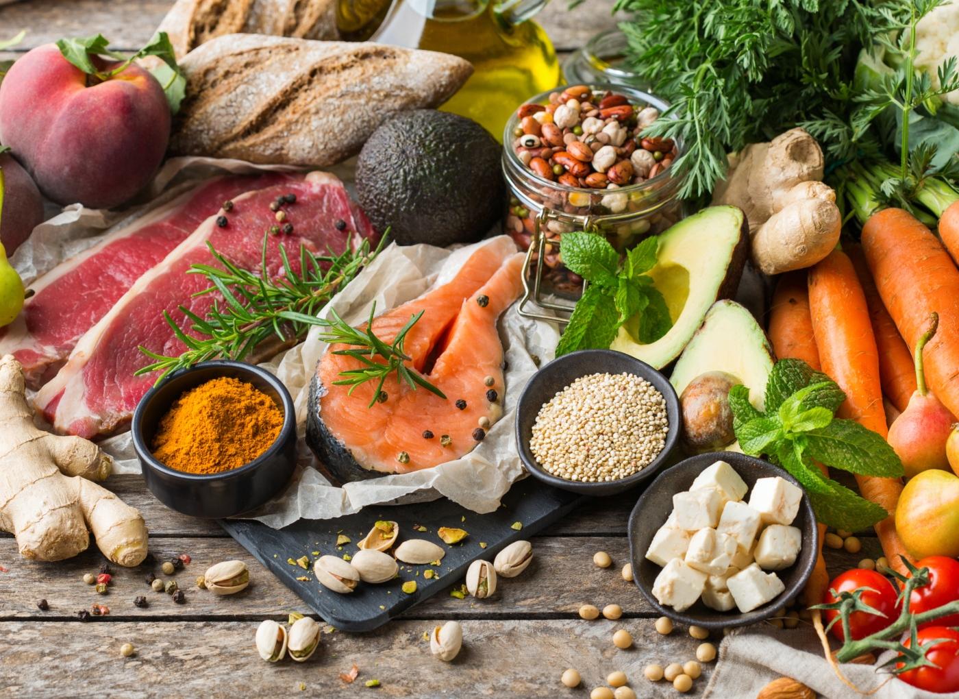 Alimentos que integram a dieta mediterrânica