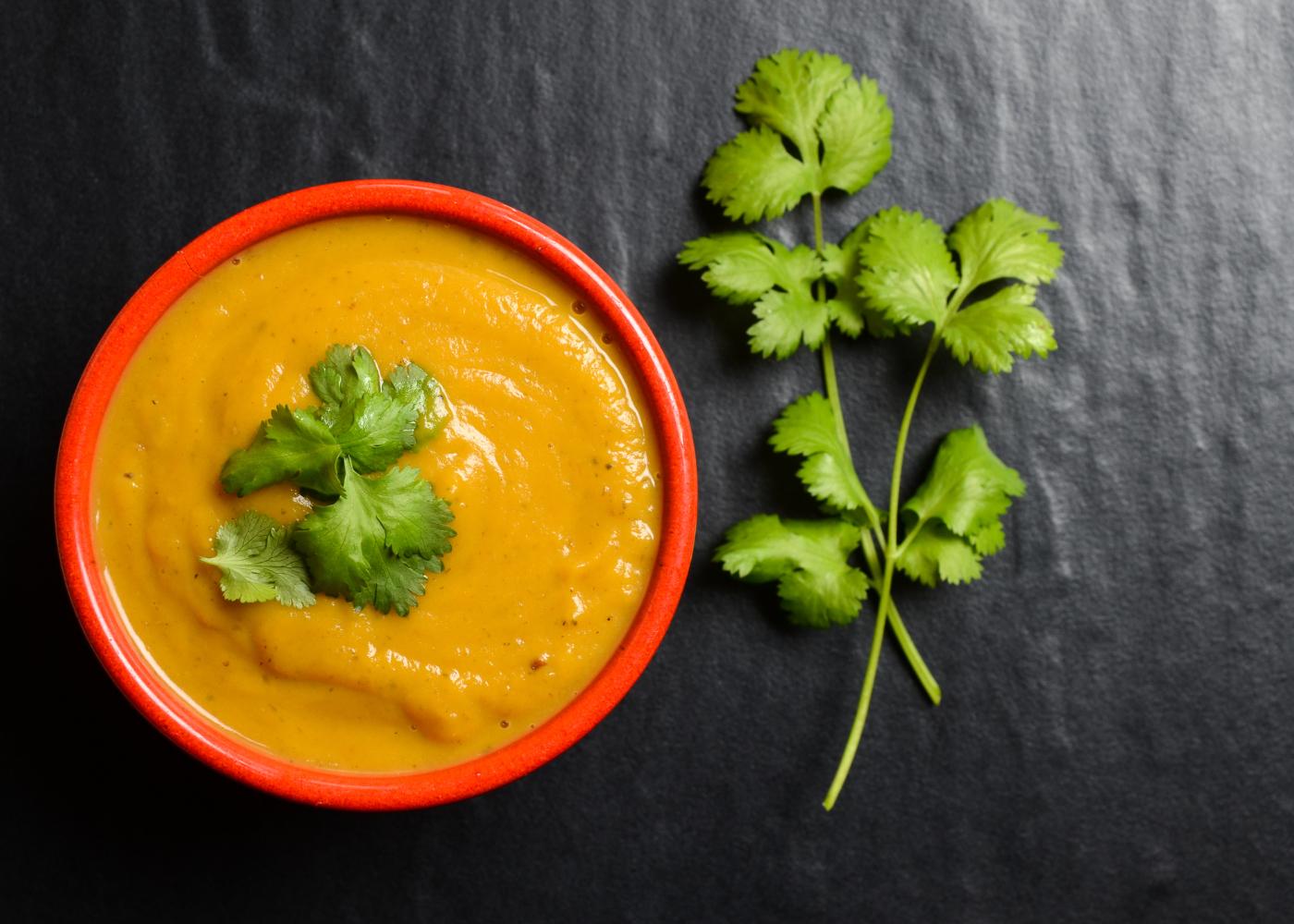 sopa rapida de batata-doce