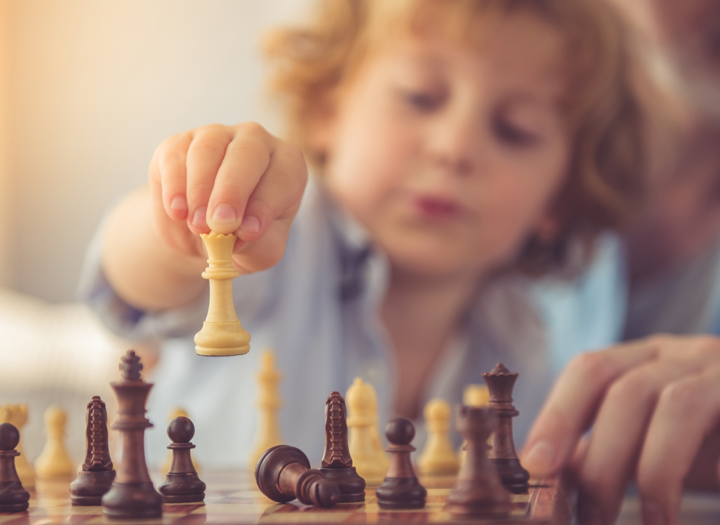 Xadrez para desenvolvimento infantil: mito ou realidade?