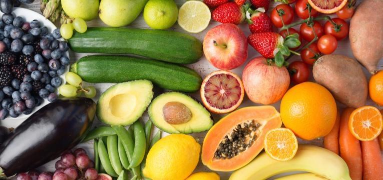 alimentos com gluten fruta
