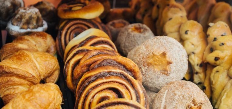 alimentos com gluten produtos de pastelaria