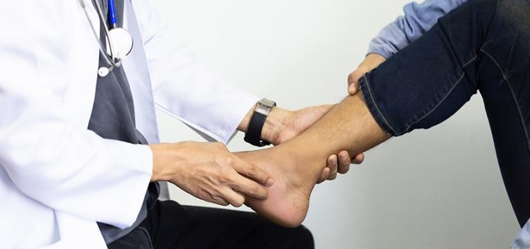 reabilitação da entorse do tornozelo