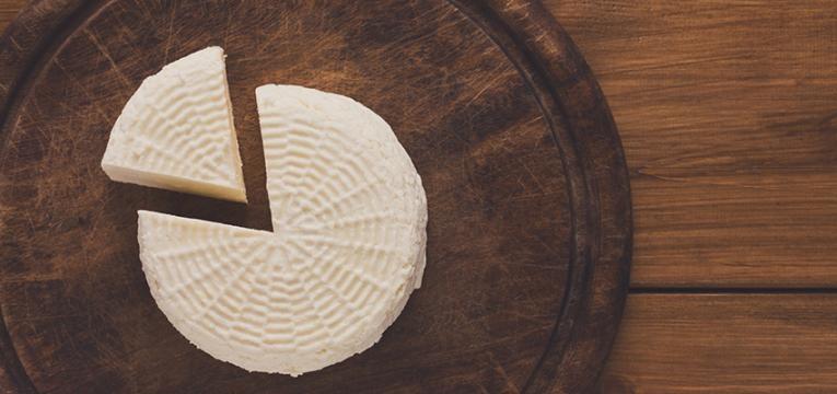 cabazes de Natal saudáveis: queijo