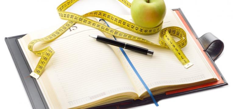 diário alimentar e despistar intolerâncias alimentares