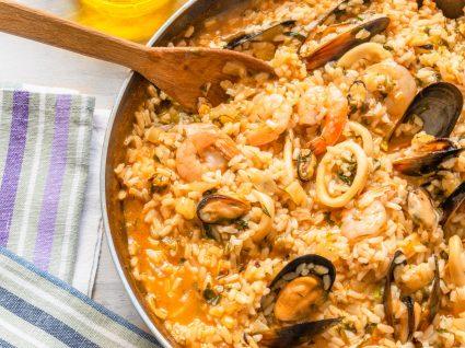 Arroz de pota: receita com camarão