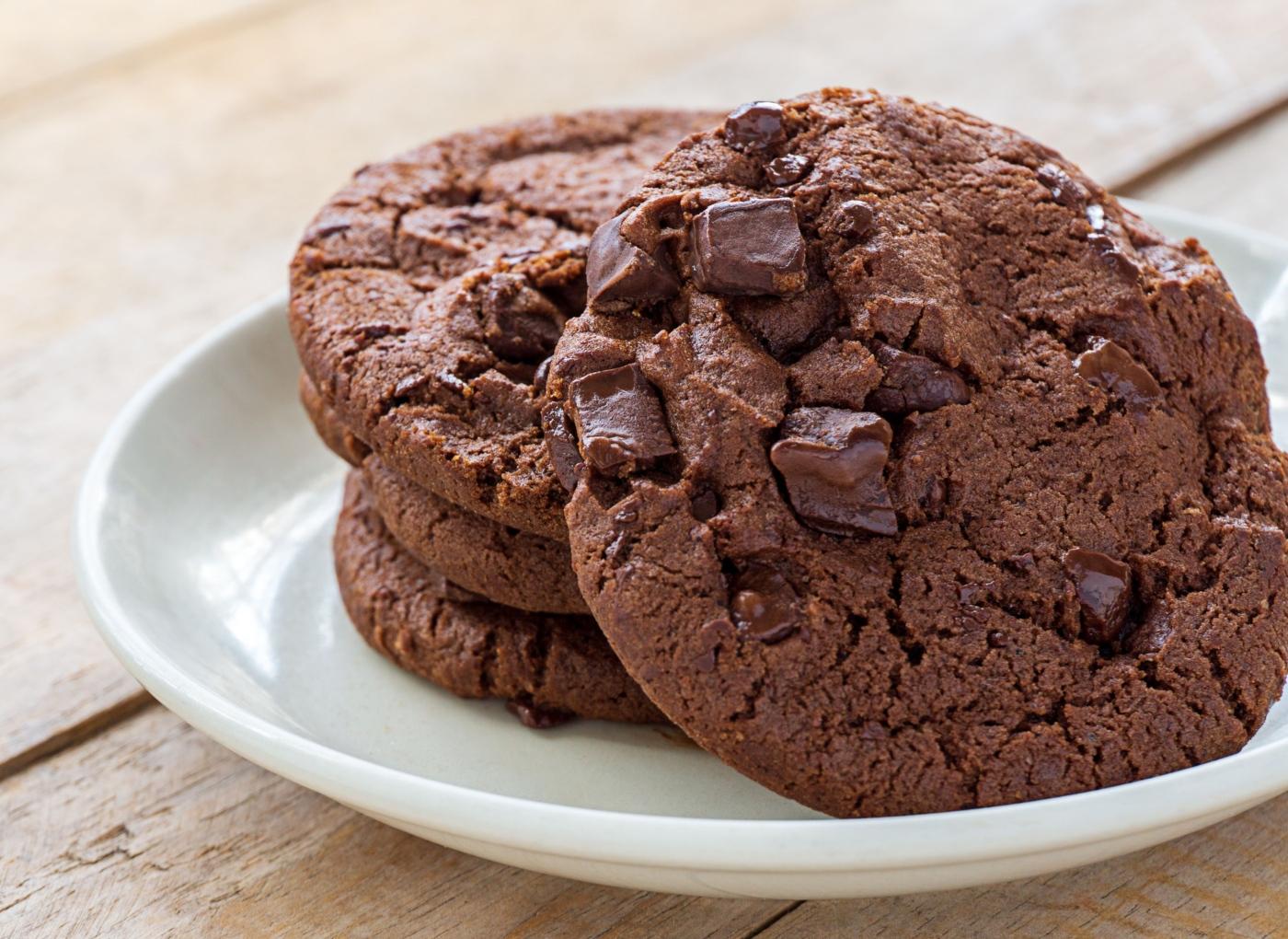 Receitas de bolachas na Bimby: bolachas de chocolate