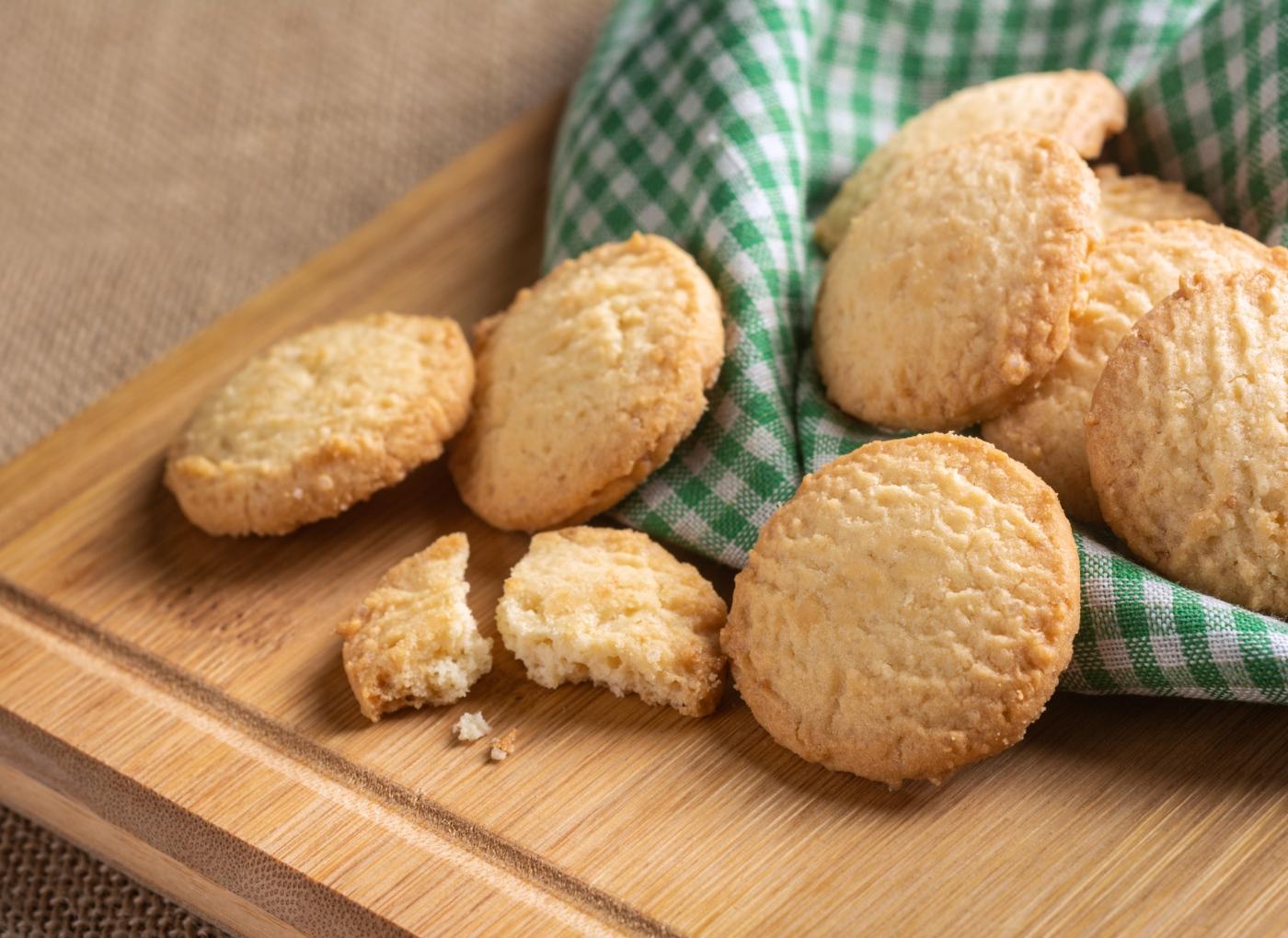 Receitas de bolachas na Bimby: bolachas de manteiga