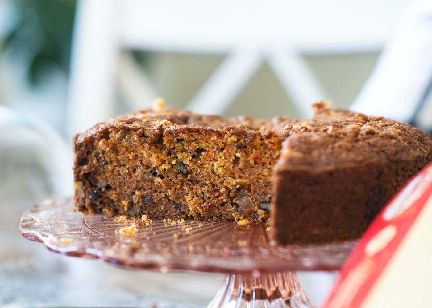 bolo de cenoura e moringa bolos saudaveis