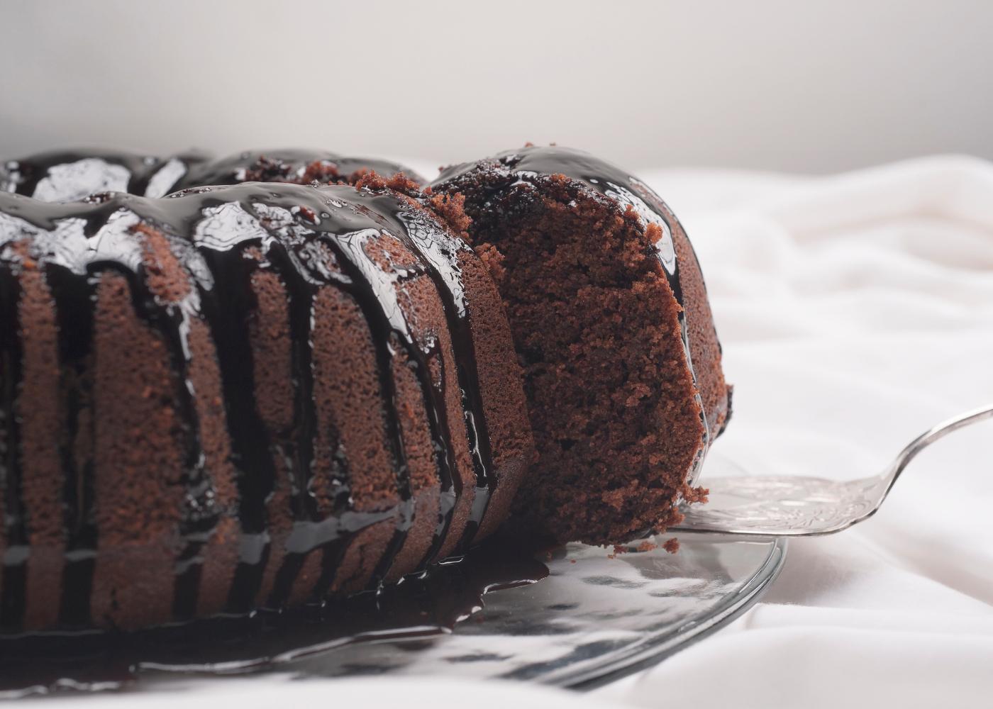 bolo de chocolate humido sobremesa