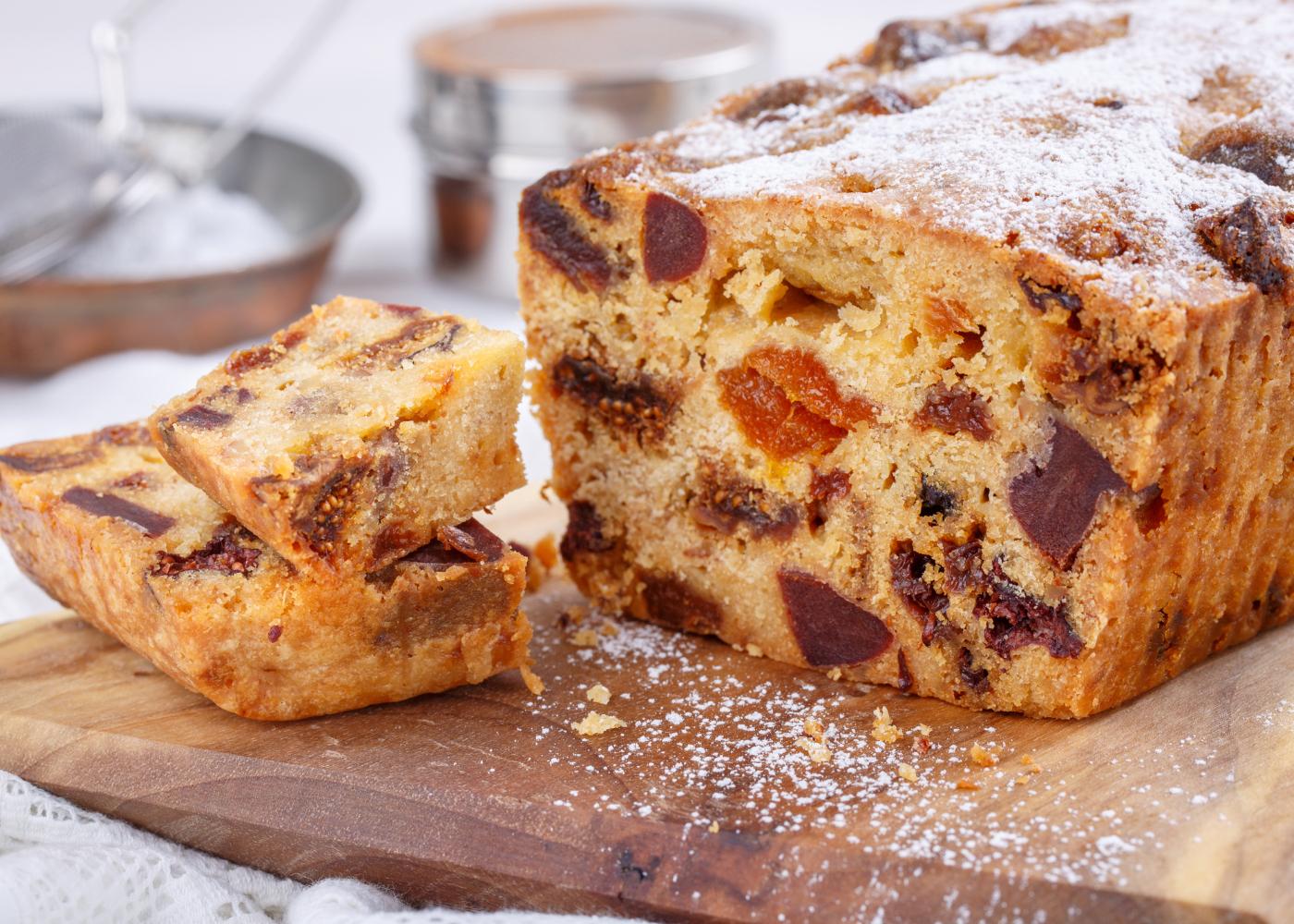 bolo de frutos secos tipicos