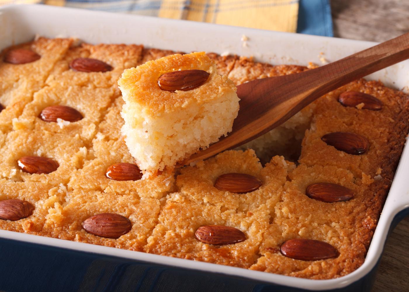 bolo de mel e amendoas bolos saudaveis