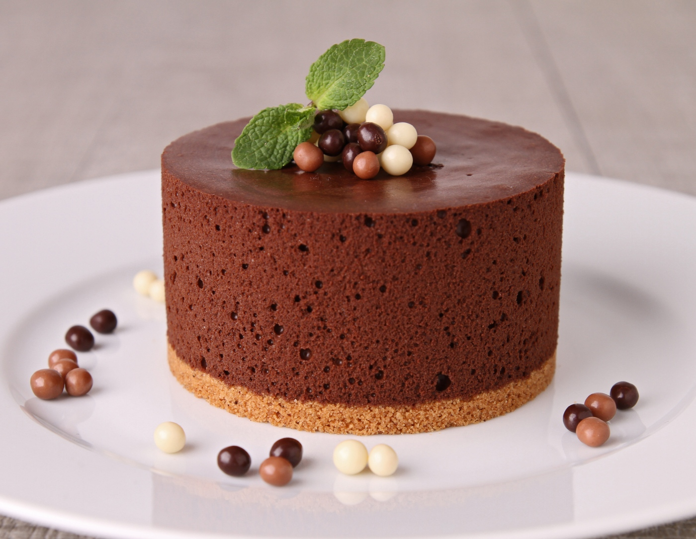 Receitas de bolo de mousse de chocolate