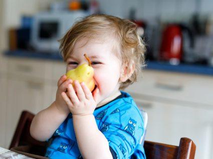 as legumes e frutas na diversificacao alimentar do bebe