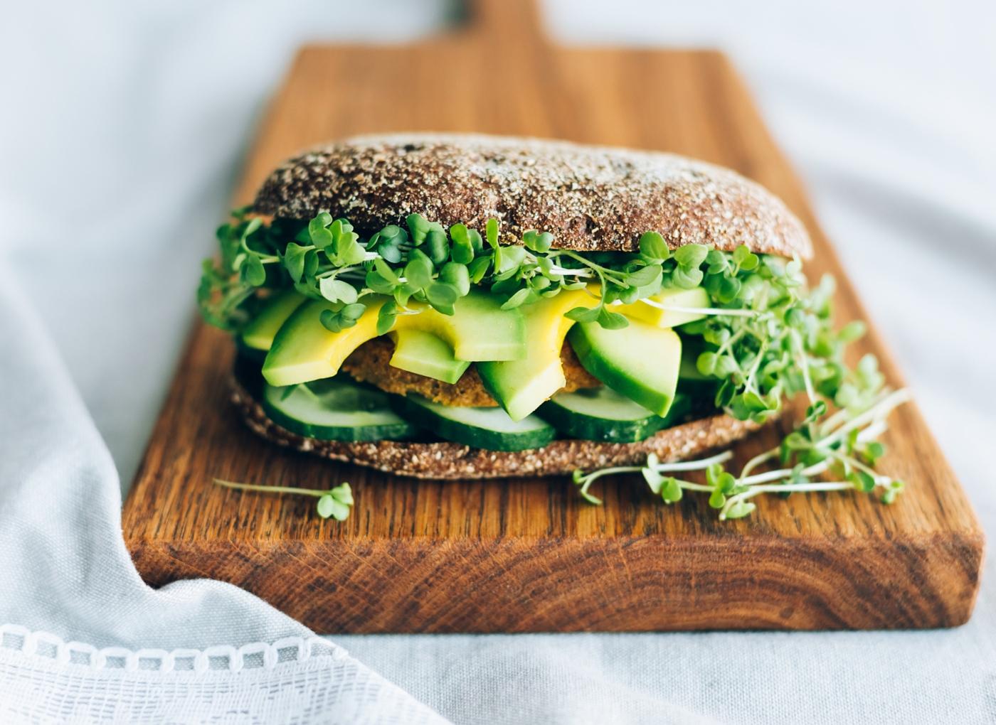Receitas vegan: hamburguer de lentilhas