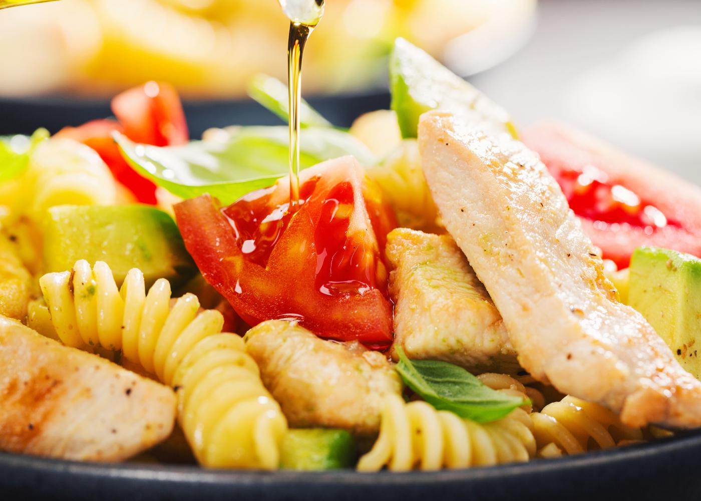 receitas de frango com massa rapidas para o dia-a-dia