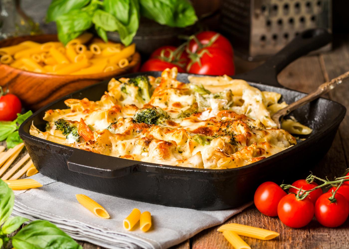 massas gratinadas: do almoço rapido ao jantar especial