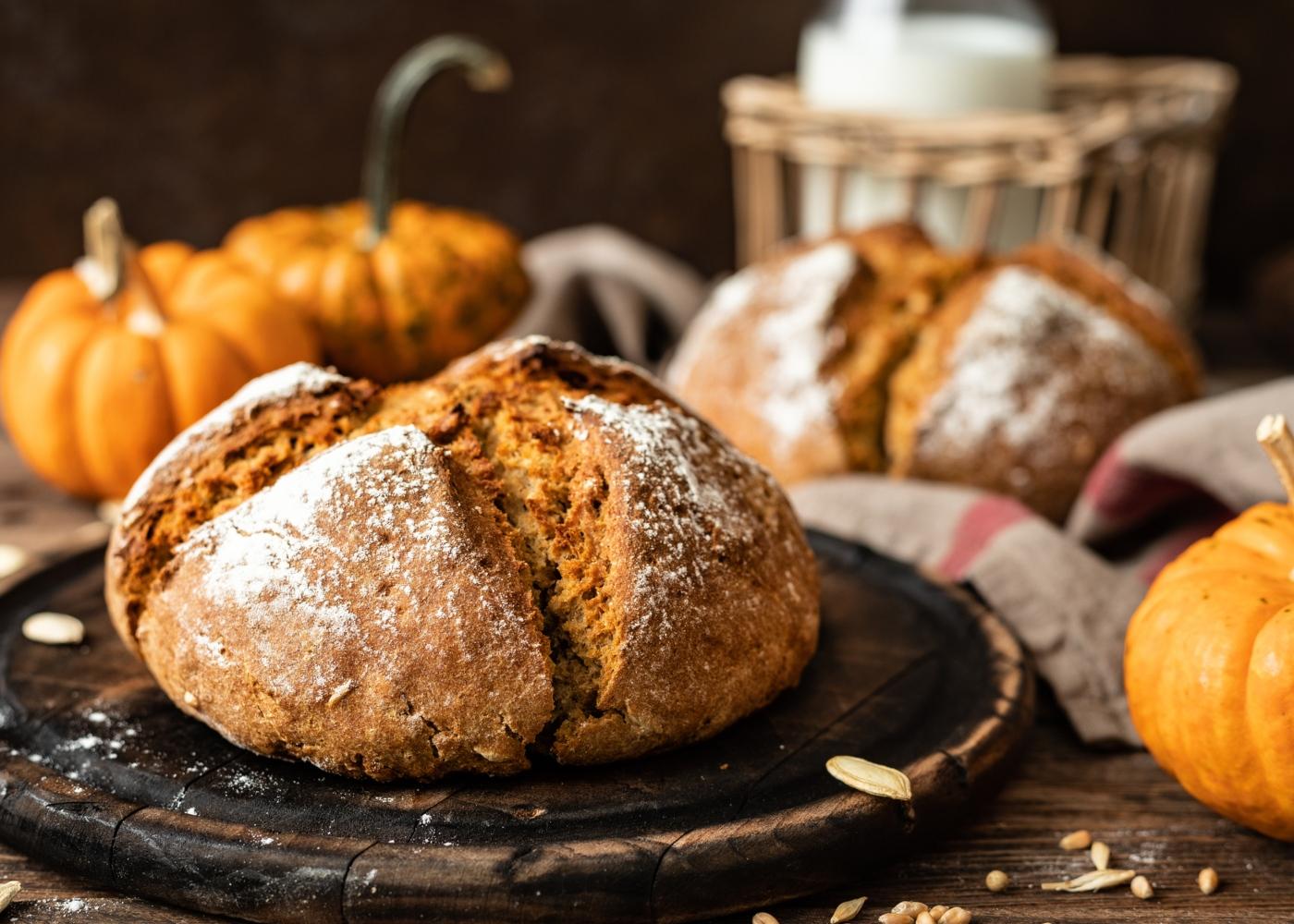 pão de abóbora na bimby