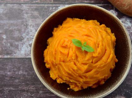 receitas de pure de batata-doce