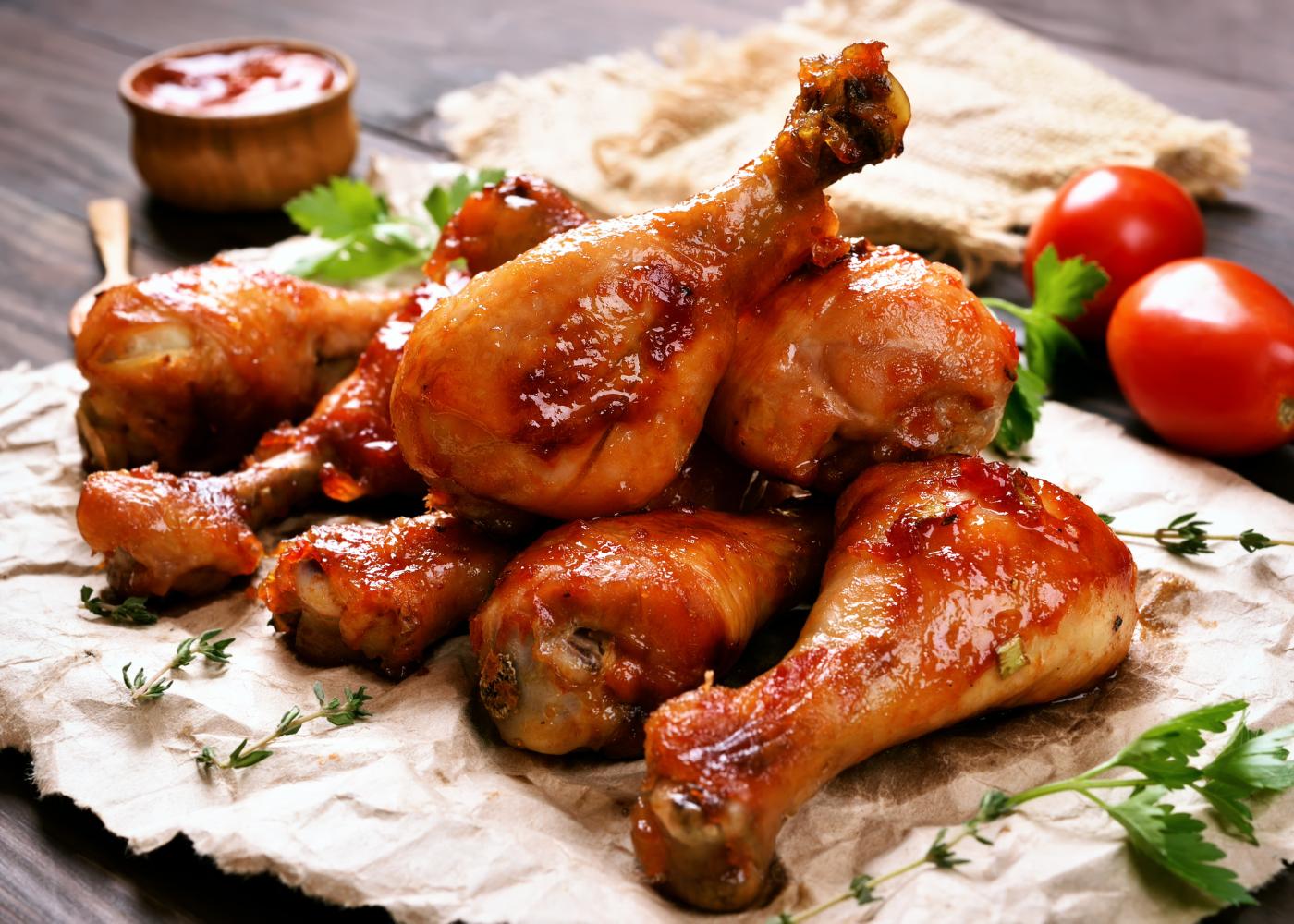 receitas com pernas de frango para o dia a dia