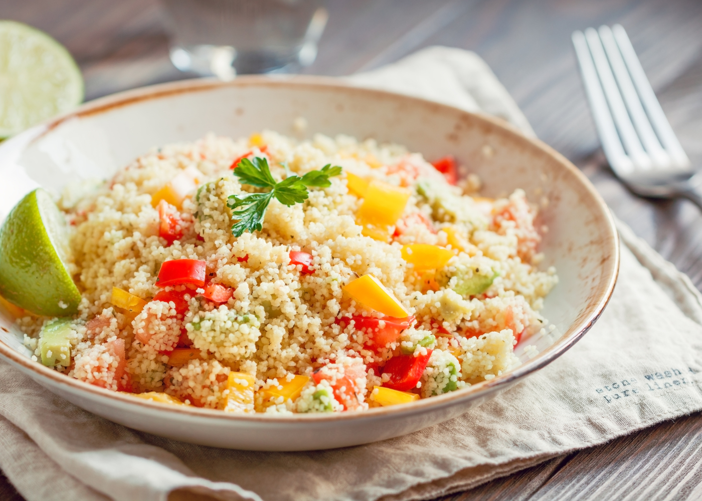 receitas saudaveis de couscous: leves e saborosas