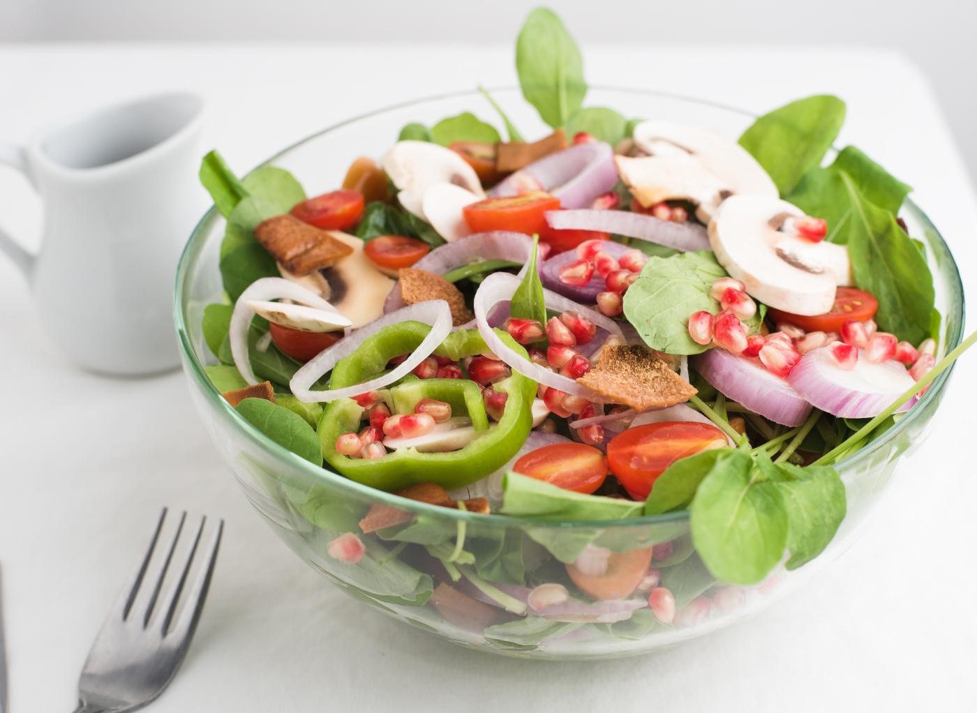 Receitas vegan: salada de tomate