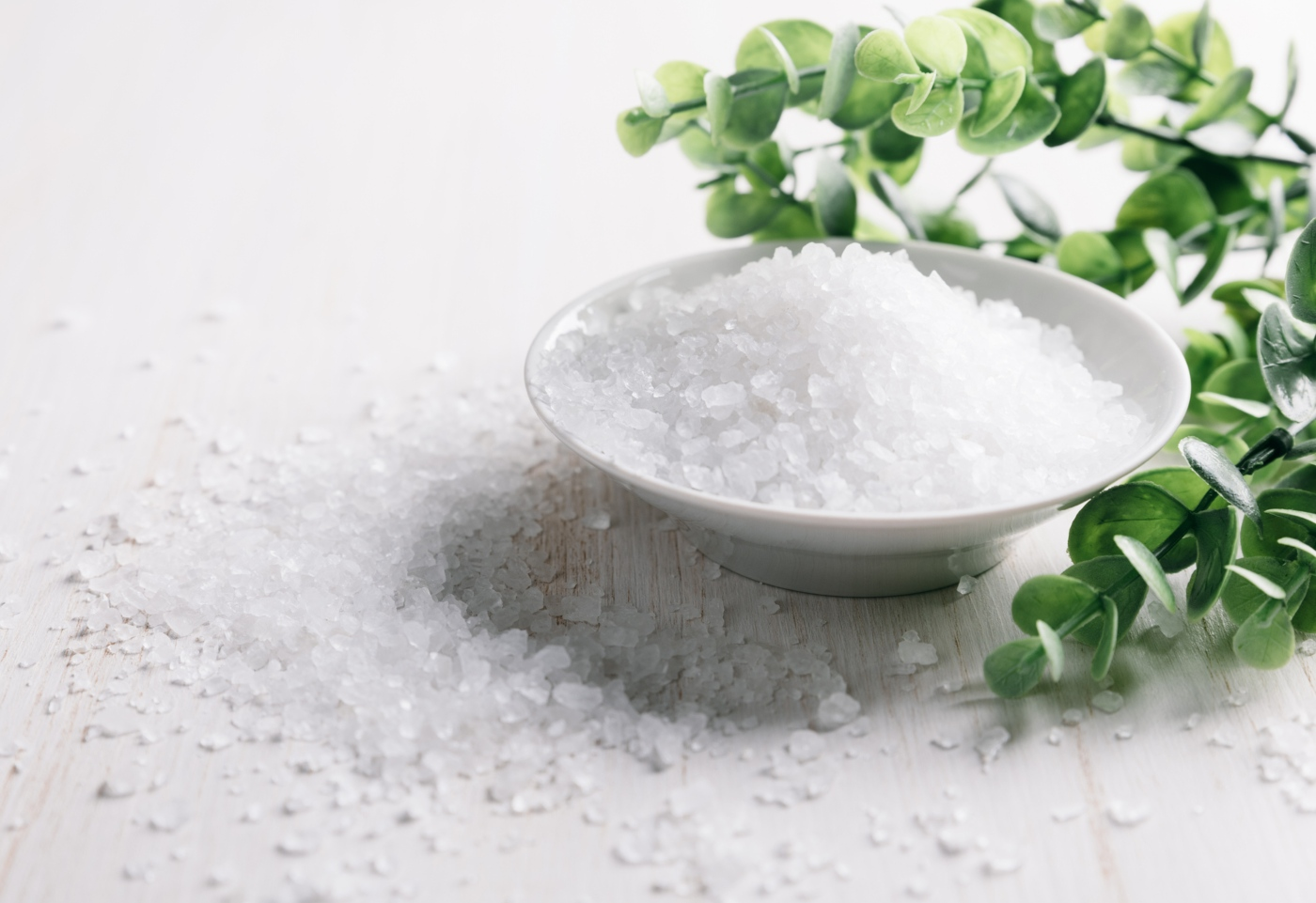Tipos de sal: sal iodado e flor de sal