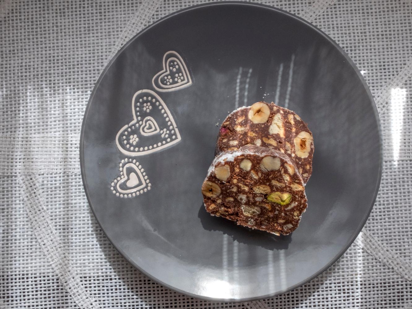 salame de chocolate saudavel receitas diversas
