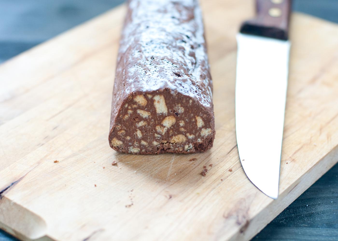 salame de chocolate saudavel receitas