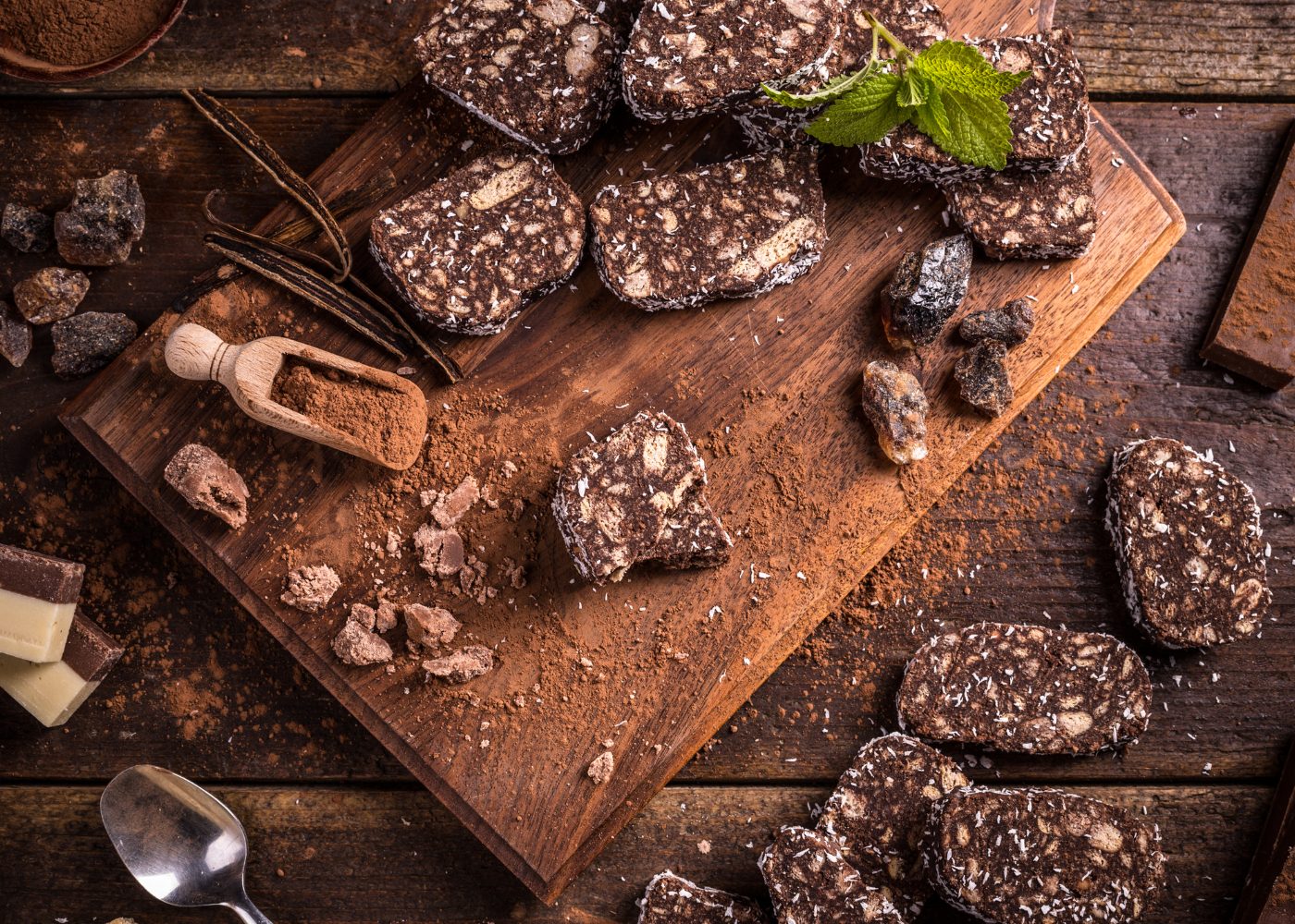 receitas de salame de chocolate absolutamente irresistiveis