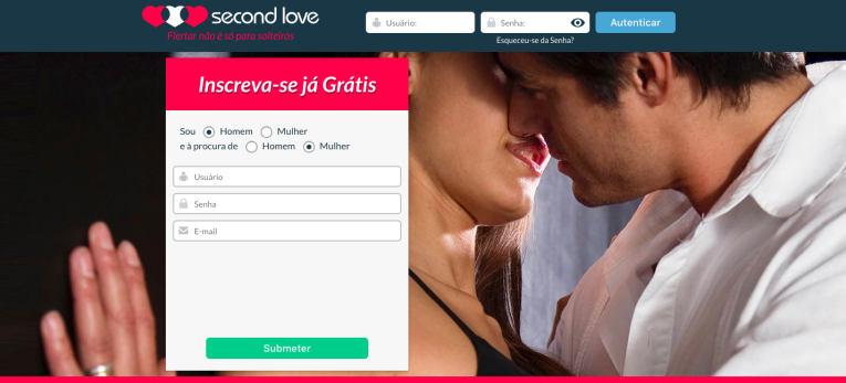 site de encontros Second love