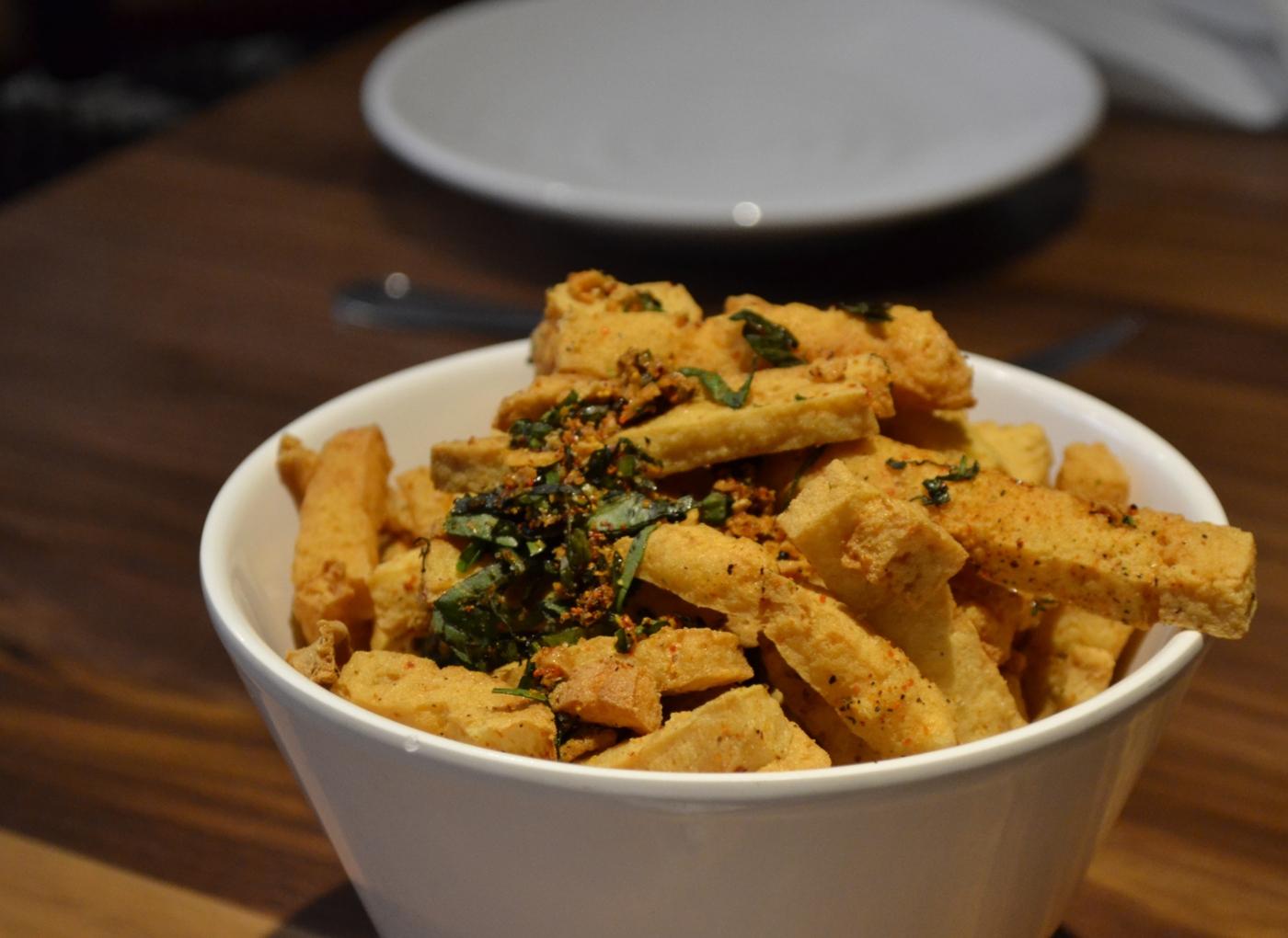 Receitas de tofu: tofu com cogumelos à brás