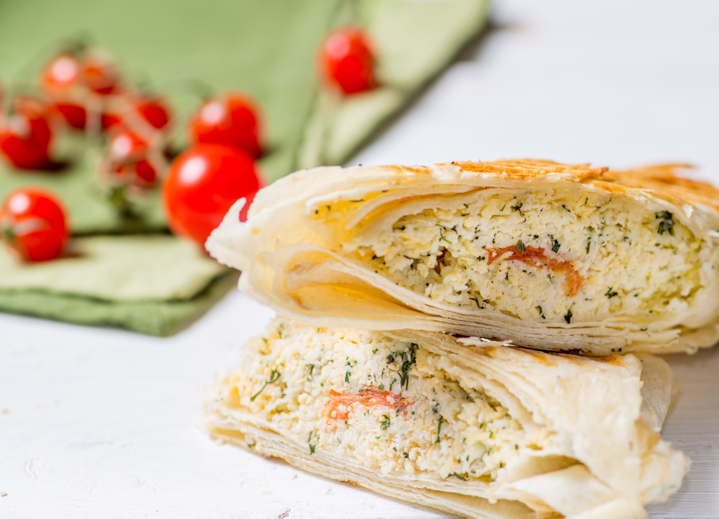 receitas com quinoa: wraps