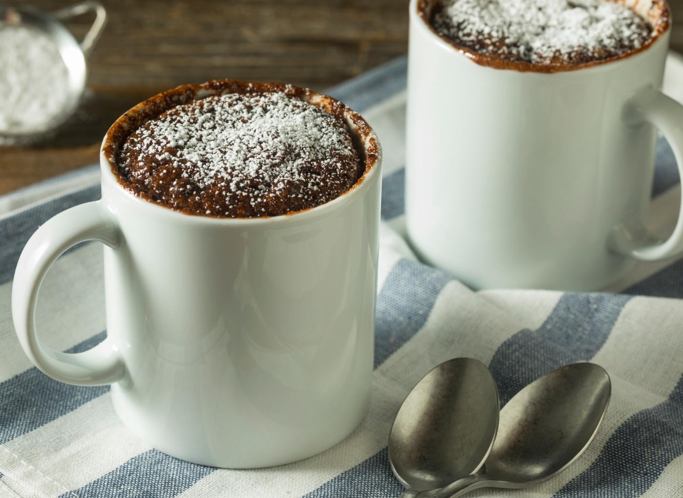 Pequenos-almoços ricos em proteína: bolo de canela