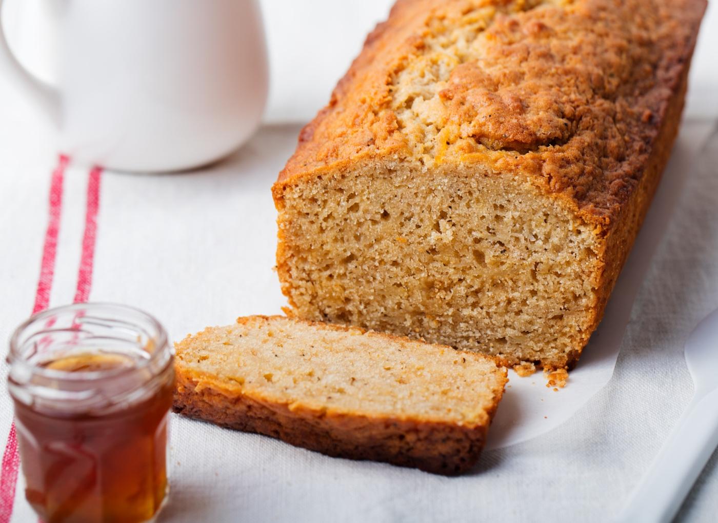Receitas de bolo de mel: bolo integral