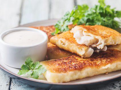 Receitas saudáveis: filetes de pescada panados
