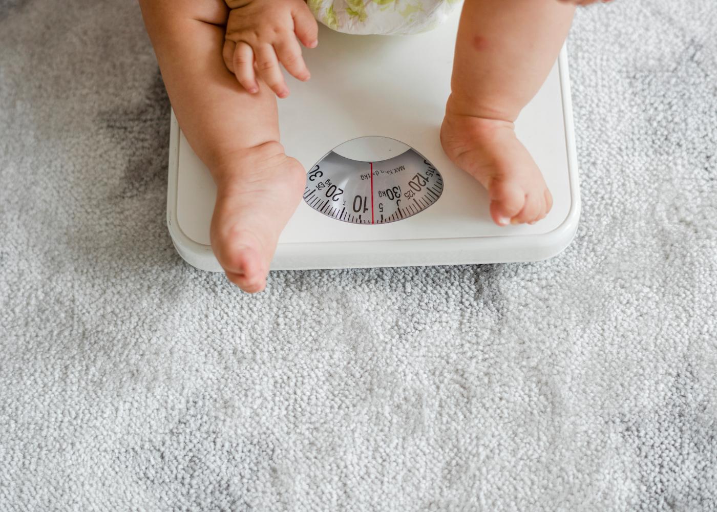 interpretar o peso do seu filho estatisticas