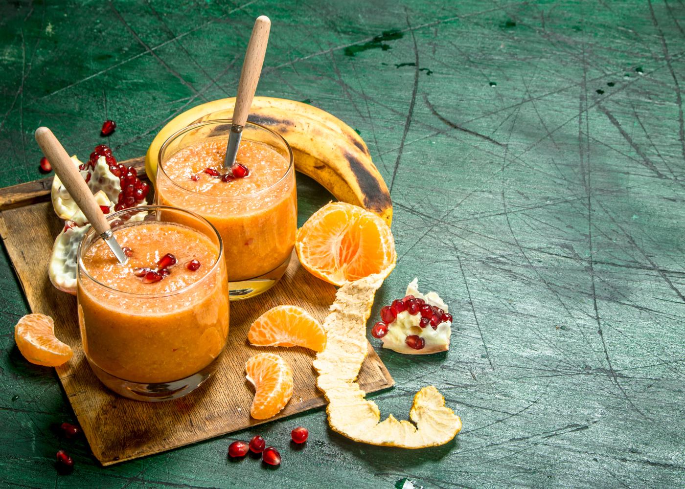 receitas de smoothies de fruta
