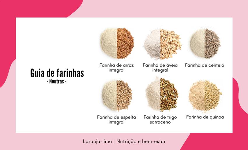 Guia de farinhas neutras