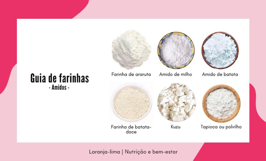 Guia de farinhas: amidos