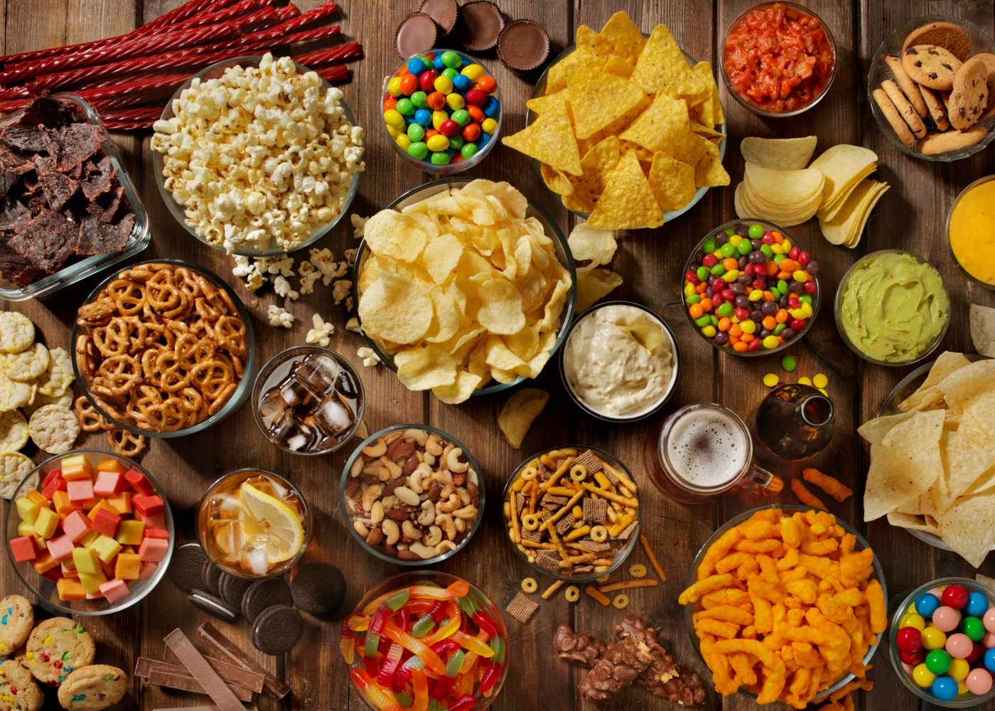 alimentos que deve e não deve comprar: alimentos processados