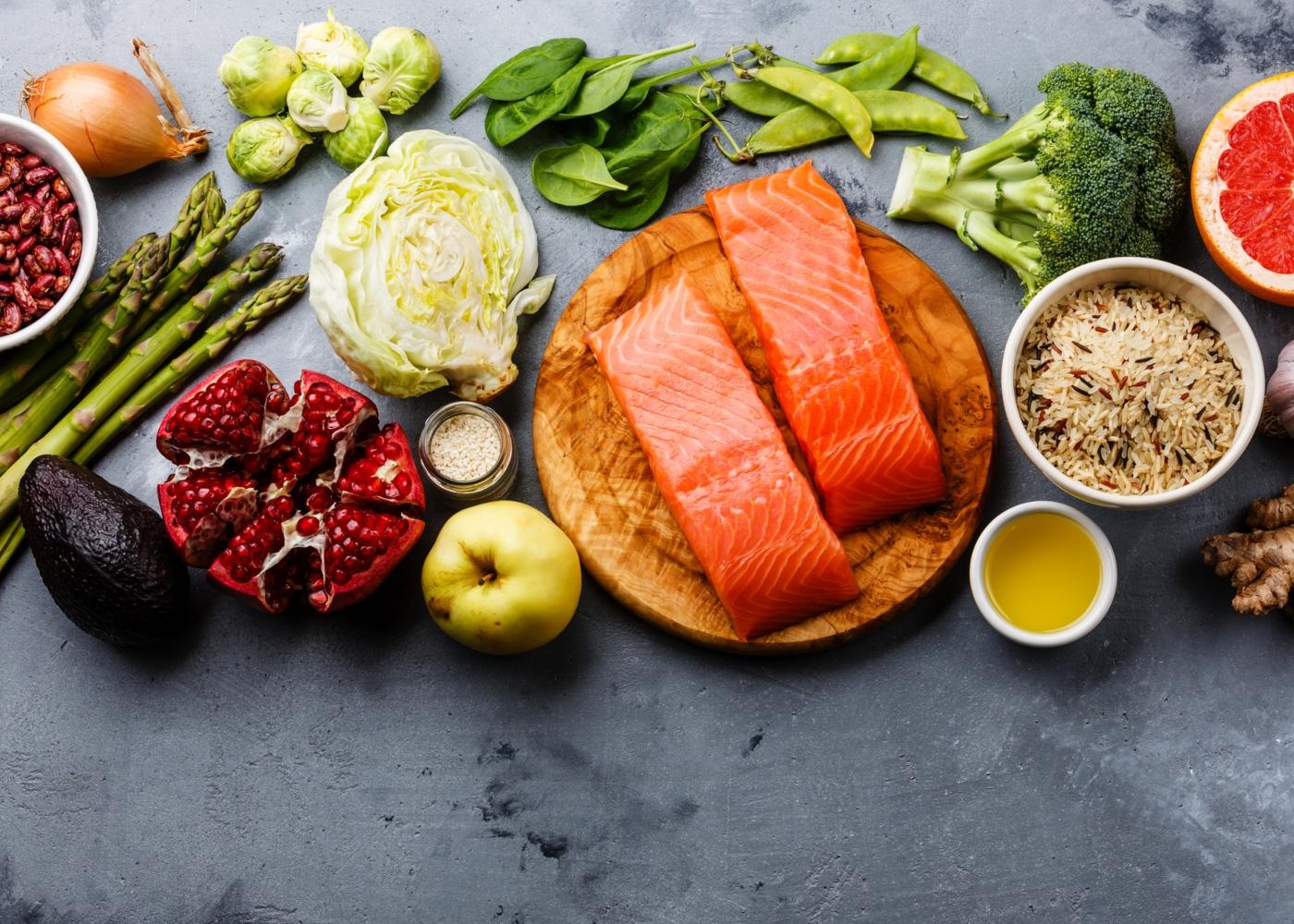Alimentos presentes na dieta escandinava