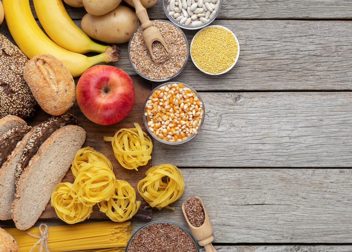 Reduzir a quantidade de hidratos de carbono durante a quarentena: alimentos ricos em hidratos