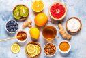 alguns dos alimentos que ajudam a reforçar o sistema imunitário