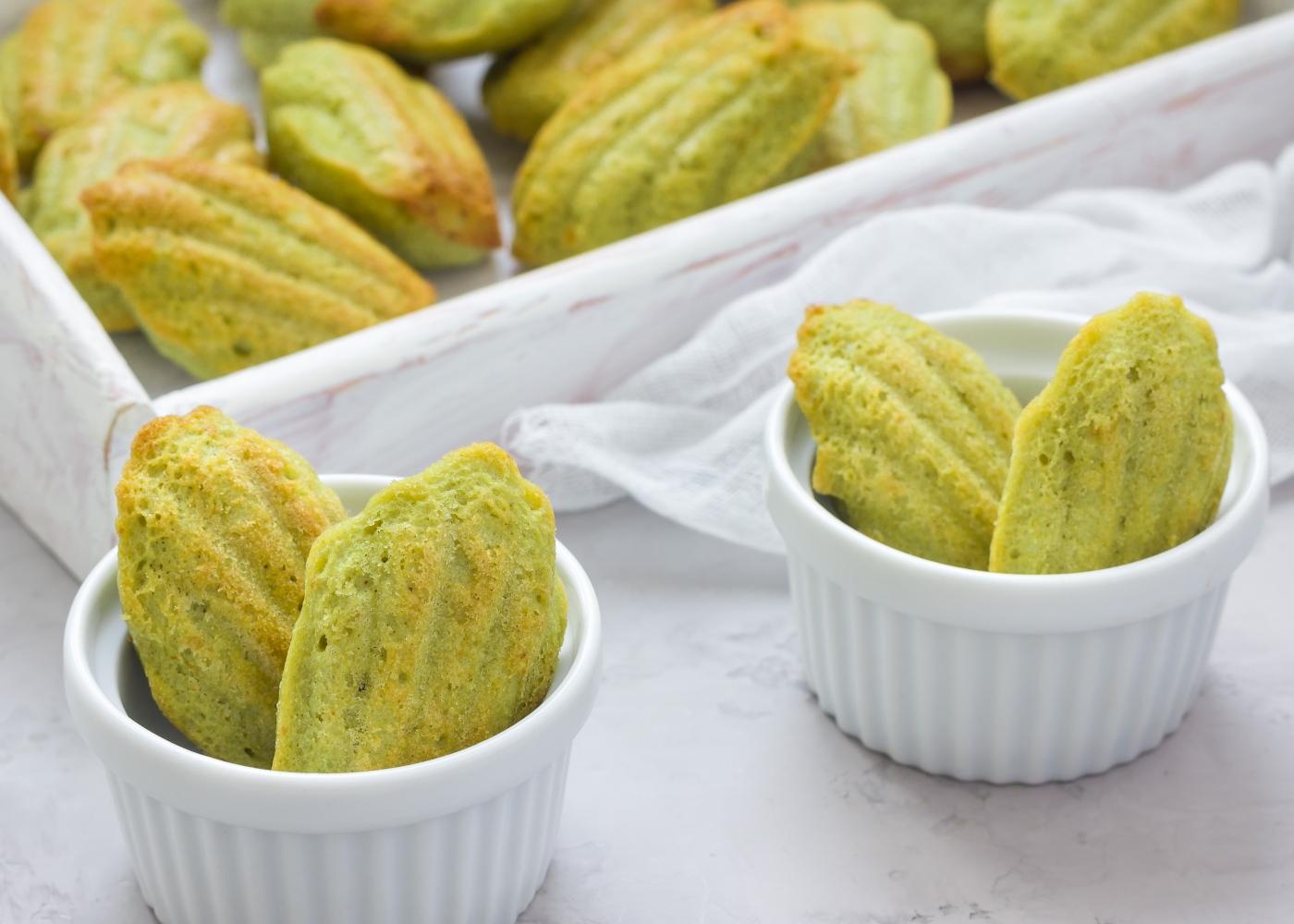 Bolachas de pistachio com aveia
