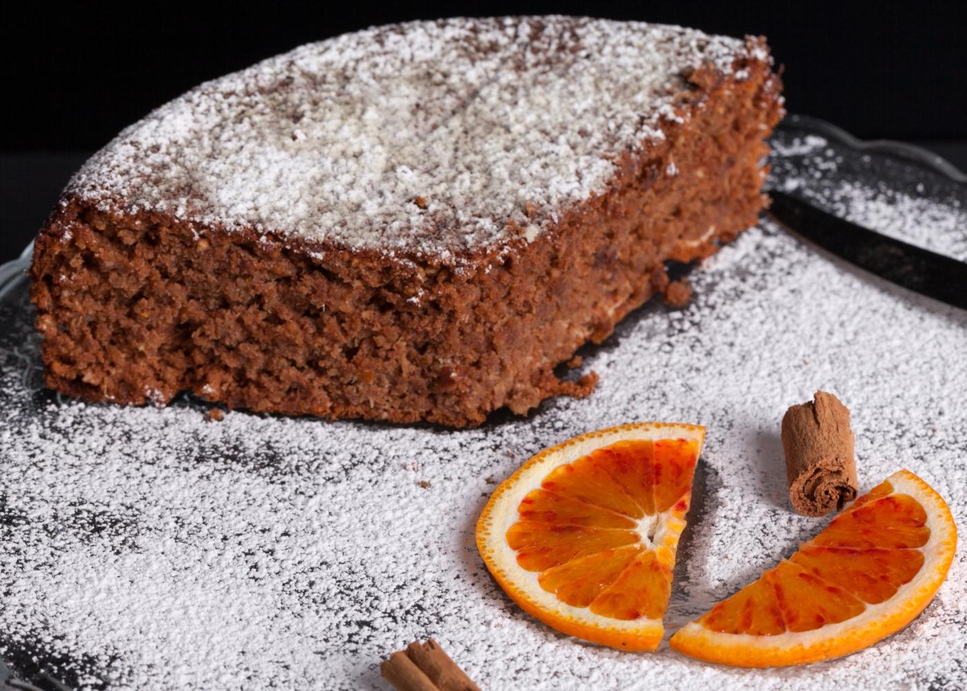Receitas de bolos saudáveis para fazer com as crianças: bolo de chocolate e laranja